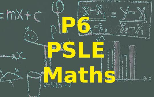 P6 PSLE Maths Set 6 Paper 1